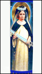 leia prayer candle 1
