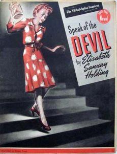 speak of the devil - philadephia enquirer - first edtion